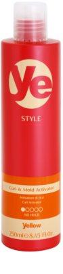 Alfaparf Milano Yellow Style activador para dar forma y definición para cabello ondulado