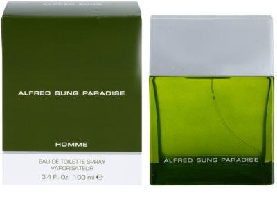 Alfred Sung Paradise eau de toilette férfiaknak