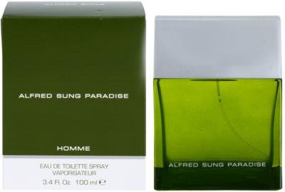 Alfred Sung Paradise Eau de Toilette para homens