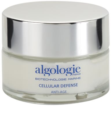 Algologie Cellular Defense creme renovador para primeiras rugas