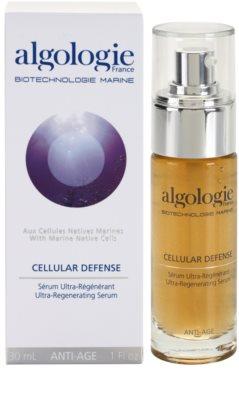 Algologie Cellular Defense регенериращ серум за възстановяване стегнатостта на кожата 1