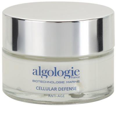 Algologie Cellular Defense crema regeneradora de noche nutrición e hidratación