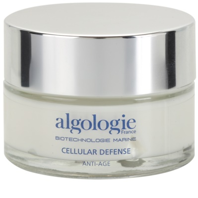 Algologie Cellular Defense regenerierende Nachtcreme zum nähren und Feuchtigkeit spenden