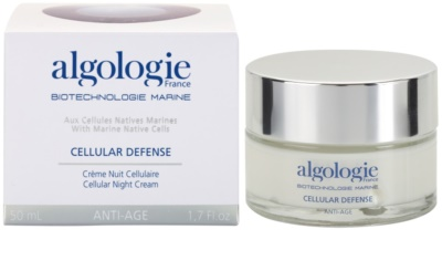Algologie Cellular Defense creme de noite regenerador  nutrição e hidratação 2