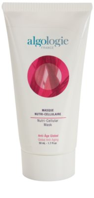 Algologie Global Anti - Aging Nutri - Cellular интензивна маска против стареене на кожата