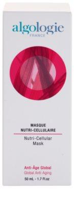Algologie Global Anti - Aging Nutri - Cellular intenzivna maska proti staranju kože 2