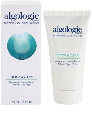 Algologie Detox & Clean masca cu alge marine 1