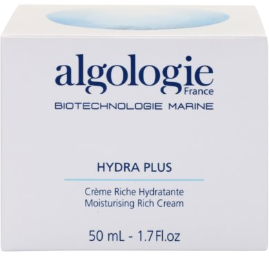 Algologie Hydra Plus hranilna krema za suho kožo 3