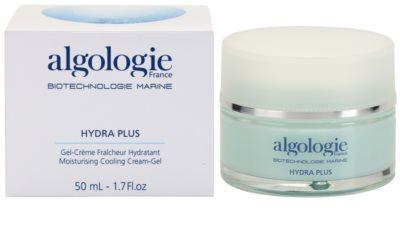 Algologie Hydra Plus crema hidratante con textura de gel para iluminar la piel 2