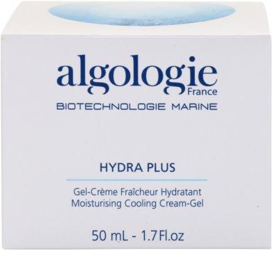 Algologie Hydra Plus crema hidratante con textura de gel para iluminar la piel 3