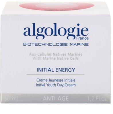 Algologie Initial Energy revitalisierende Creme gegen die ersten Anzeichen von Hautalterung 3
