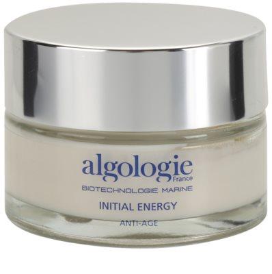 Algologie Initial Energy mattierendes Gel mit fettfreier Zusammensetzung strafft die Haut und verfeinert Poren