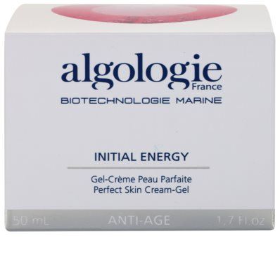 Algologie Initial Energy mattierendes Gel mit fettfreier Zusammensetzung strafft die Haut und verfeinert Poren 3