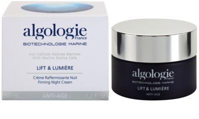 Algologie Lift & Lumiere crema de noapte pentru fermitate cu efect lifting 2