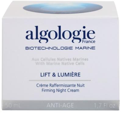Algologie Lift & Lumiere crema de noapte pentru fermitate cu efect lifting 3