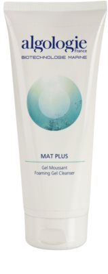 Algologie Mat Plus emulsão de limpeza para pele oleosa