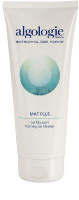 Algologie Mat Plus emulsión limpiadora para pieles grasas