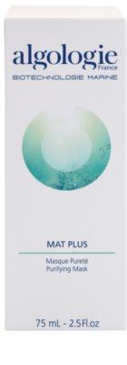 Algologie Mat Plus čisticí maska na redukci mastnoty pleti 2