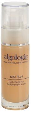Algologie Mat Plus noční péče proti akné a začervenání pleťi