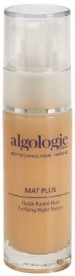 Algologie Mat Plus tratamiento de noche para el acné y las rojeces de la piel