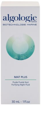 Algologie Mat Plus нічний догляд проти акне та почервонінь шкіри 2