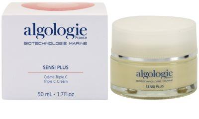 Algologie Sensi Plus crema hidratante con efecto luminoso para pieles sensible (normales y mixtas) 2
