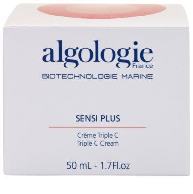 Algologie Sensi Plus crema hidratante con efecto luminoso para pieles sensible (normales y mixtas) 3