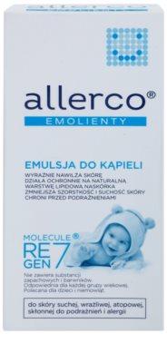 Allerco Molecule Regen7 Baby fürdő emulzió hidratáló hatással 2