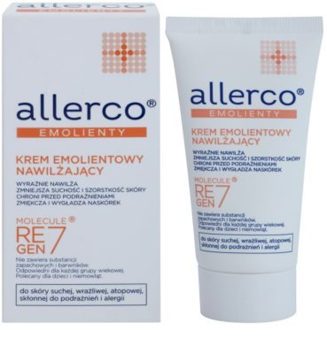 Allerco Molecule Regen7 crema hidratante y emoliente 1