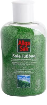 Allga San Feet & Leg Banho de água salgada com pinho jovem para os pés