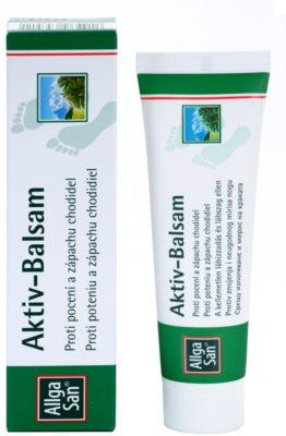 Allga San Feet & Leg активний бальзам антиперспірант проти запаху ніг 1