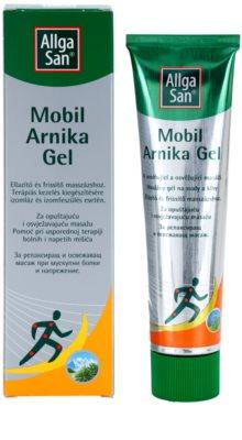 Allga San Muscles & Joints gel de arnica pentru tratament local 1