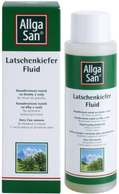 Allga San Muscles & Joints розчин соснового стланику з есенціальними маслами 1