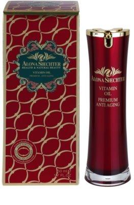 Alona Shechter Premium Anti-Aging Vitamin-Öl gegen Hautalterung 1