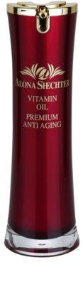Alona Shechter Premium Anti-Aging Óleo vitaminico contra o envelhecimento da pele.