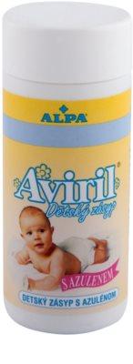 Alpa Aviril dětský zásyp s azulenem