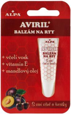 Alpa Aviril бальзам для губ з фруктовим присмаком