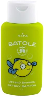 Alpa Batole champú para niños con aceite de oliva