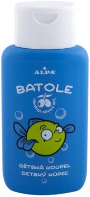 Alpa Batole tusoló készítmény gyermekeknek olívaolajjal