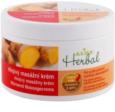 Alpa Herbal crema de masaje con efecto calor