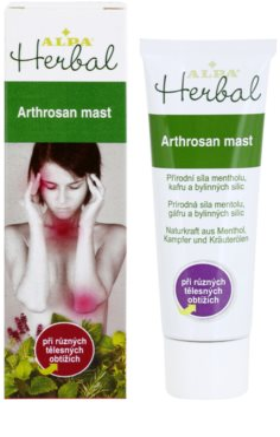 Alpa Herbal mazilo za akutne in kronične bolečine za lokalno zdravljenje 1