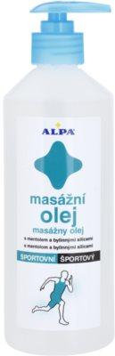 Alpa Massage ulei masaj pentru sport