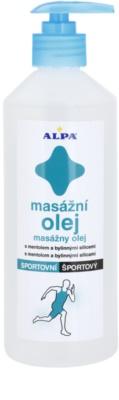 Alpa Massage олійка для масажу після занять спортом