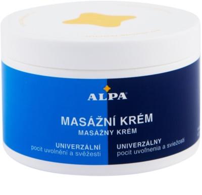 Alpa Massage masážní krém
