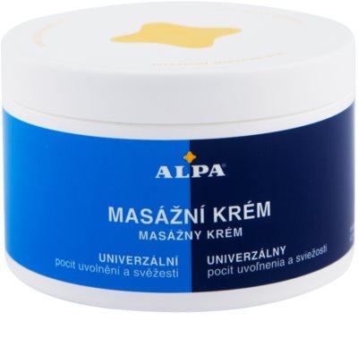 Alpa Massage masszázskrém
