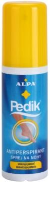 Alpa Pedik антиперспірант для ніг