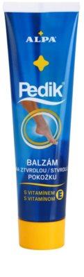 Alpa Pedik бальзам для затверділої шкіри з вітаміном Е