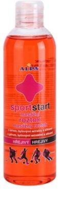 Alpa SportStart solução de massagem morna