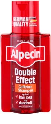 Alpecin Double Effect sampon férfiaknak koffein kivonattal korpásodás és hajhullás ellen