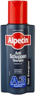 Alpecin Hair Energizer Aktiv Shampoo A3 aktiváló sampon korpásodás ellen